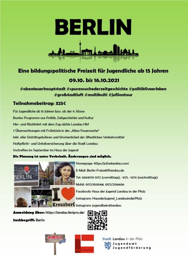 Plakat Berlin 2021